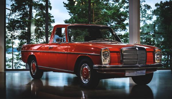Пикапы Mercedes-Benz: взгляд в историю