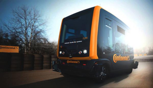 Компания Continental разработала такси-беспилотник
