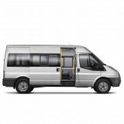 Боковое среднее правое для Ford Transit