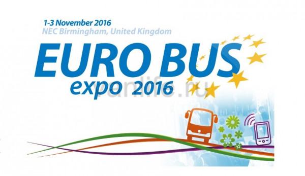 Выставка коммерческого транспорта Euro Bus Expo Birmingham 2016