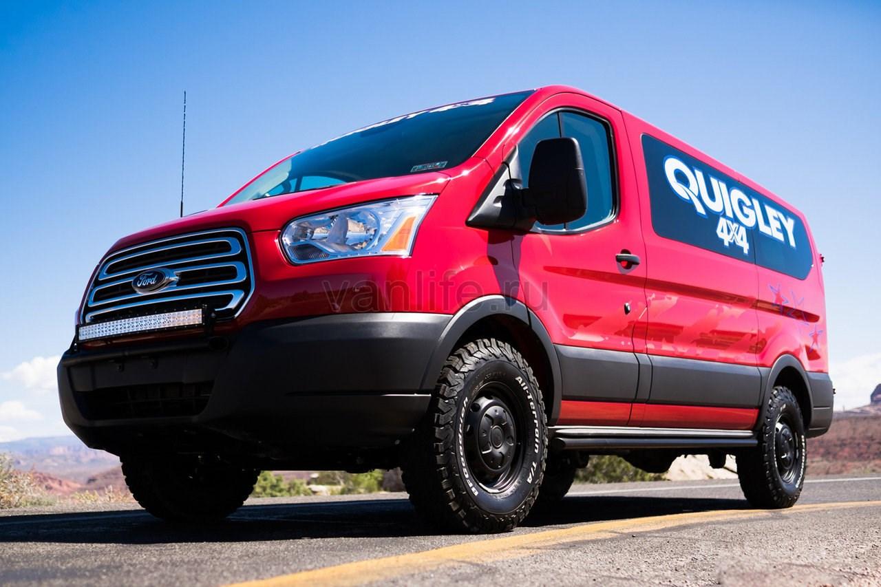 Ford Transit 4x4: Внедорожная версия