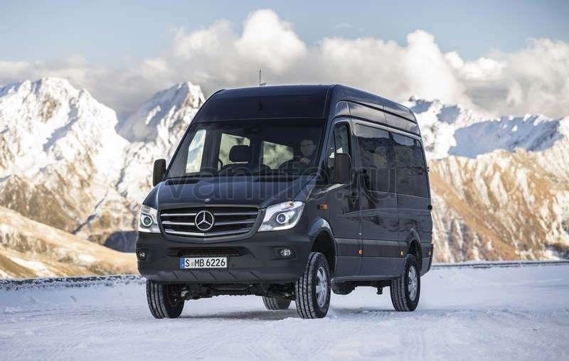 Mercedes Sprinter 4x4 - заготовка под кемпер - klimovs_travels — LiveJournal