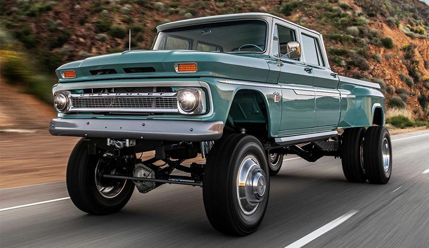 Посмотрите, во что превратили пикап Chevrolet Crew Cab 1966 года