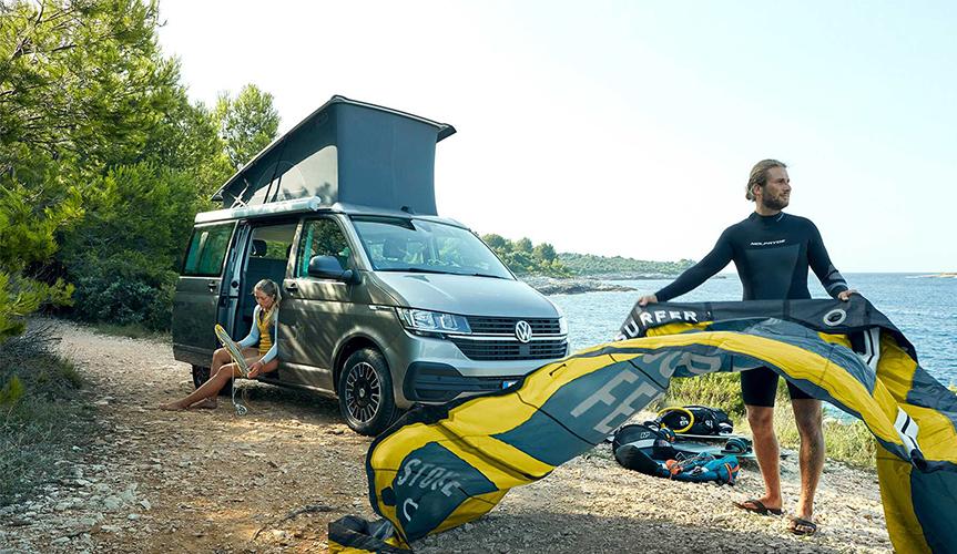 Семь мест и кухня: представлен VW California 6.1 Beach
