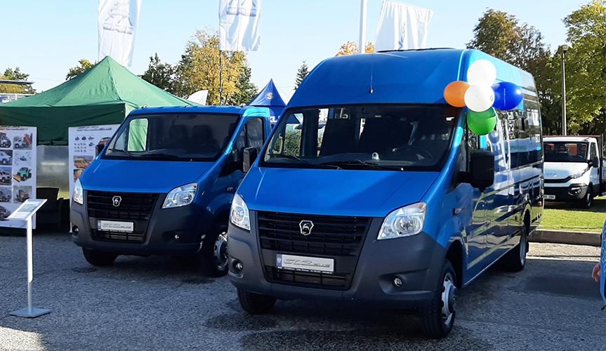 Горьковский автозавод представил технику на международной выставке в Эстонии
