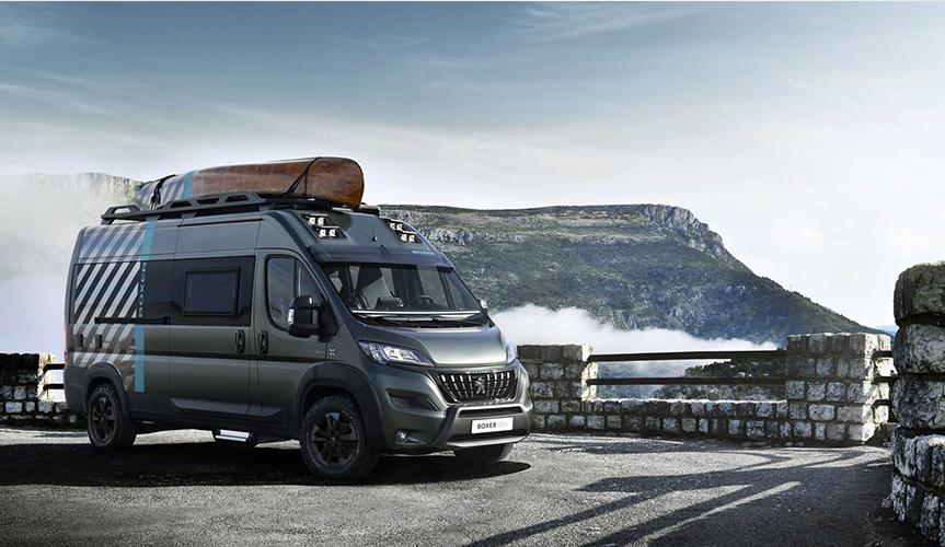 Концептуальный Peugeot Boxer 4x4 позовет в путешествие