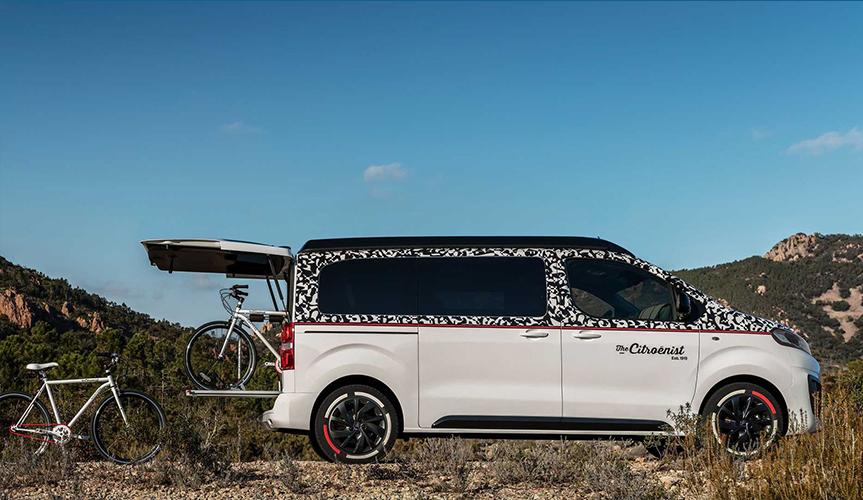 Новый концепт дома на колёсах от Citroen
