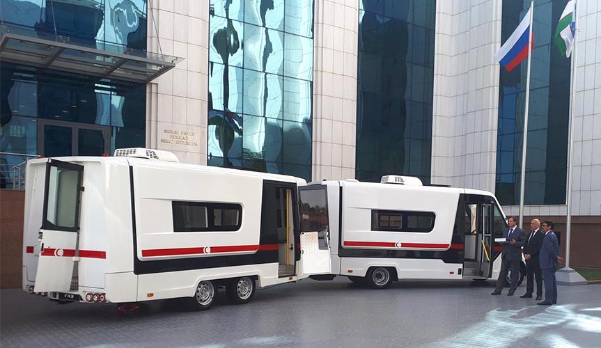 В Узбекистане начнет работать мобильный медицинский комплекс «ГАЗель NEXT»