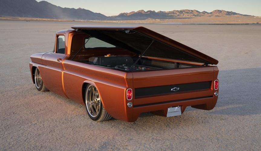 Chevrolet создал электрокар на базе пикапа 60-х