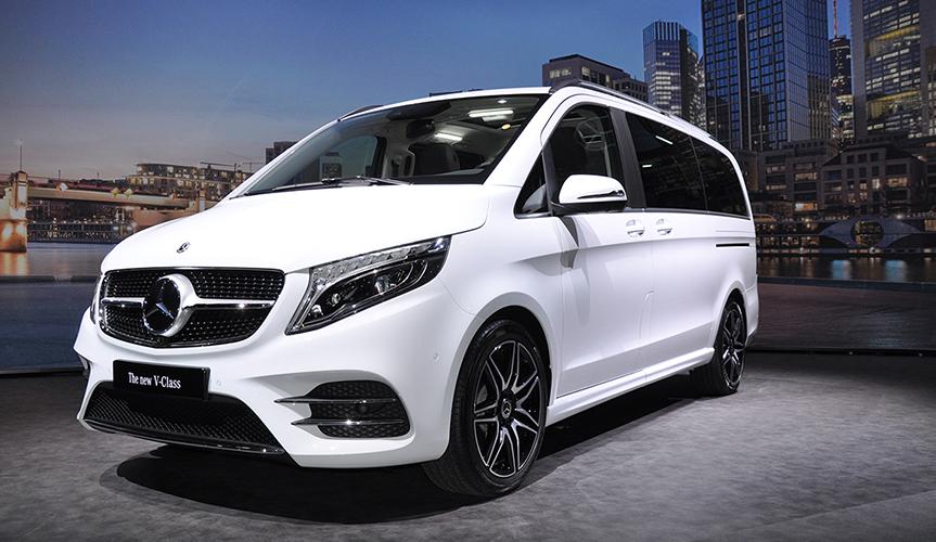 Mercedes-Benz V-Класс получил пакет AMG Line