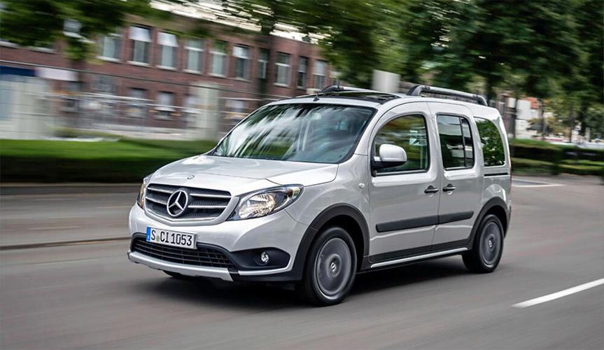 Mercedes-Benz Citan больше не будет продаваться на российском рынке