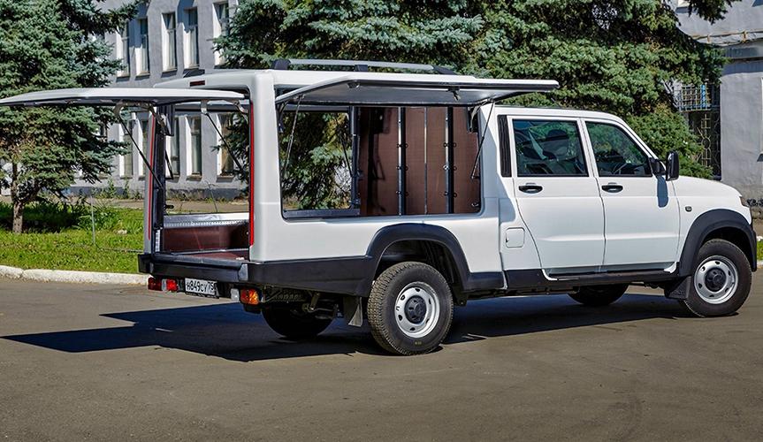 УАЗ разработал новую версию коммерческого грузовичка «Профи»