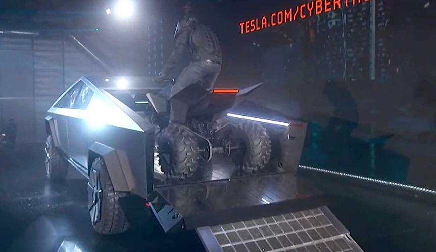 Состоялась официальная презентация пикапа от Tesla (+видео)