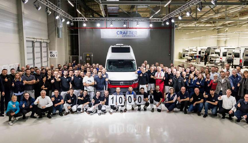 Volkswagen изготовил 1000-й кемпер Grand California
