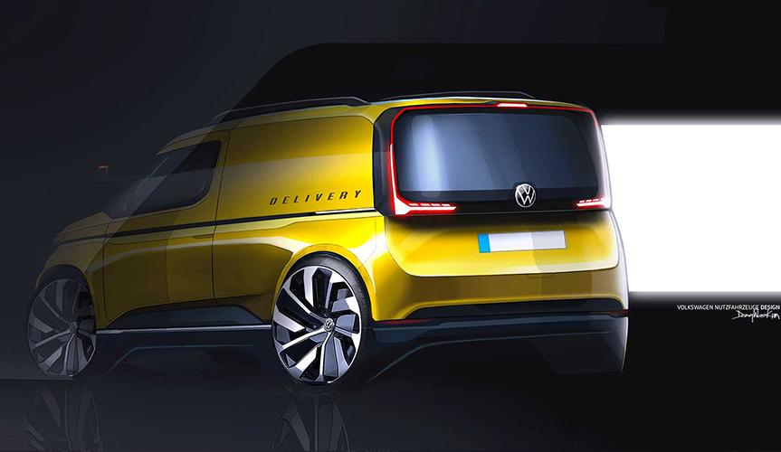 Volkswagen представит совершенно новый Caddy в феврале 2020 года