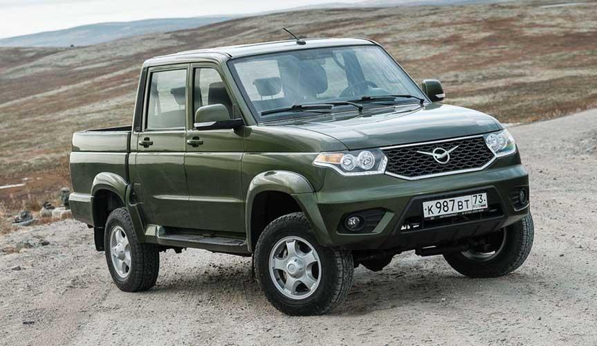 Среди пикапов на первое место по продажам вышел UAZ Pickup