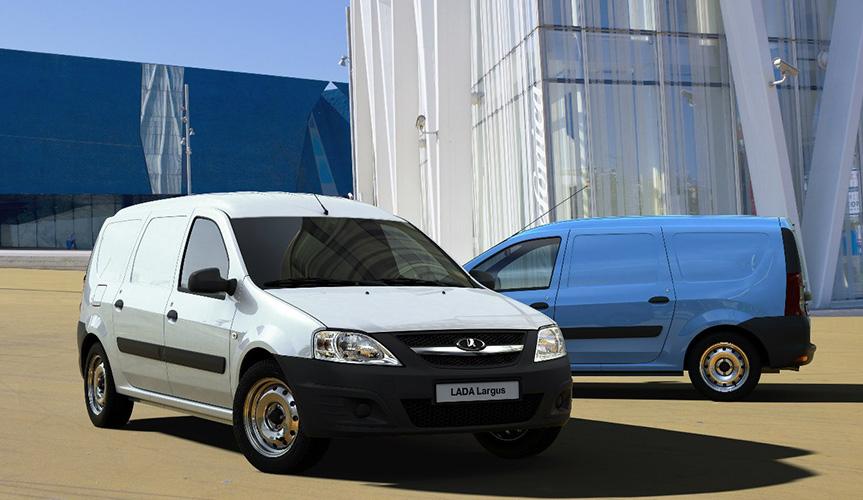 Фургон LADA Largus в 2019 году вошел в ТОП-5 рынка LCV