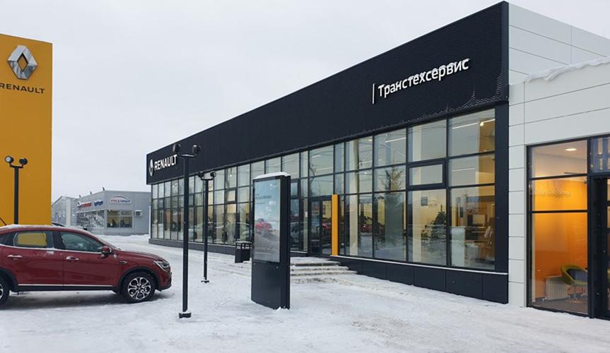 Renault Россия открыла новый дилерский центр в Набережных Челнах