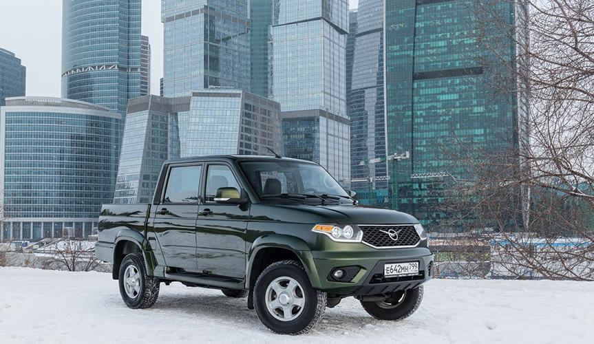 УАЗ «Пикап» вновь стал лидером российского рынка в своём сегменте