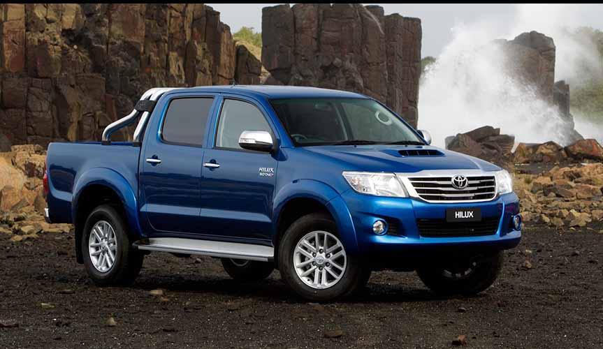 Toyota Hilux является лидером по сохранности остаточной стоимости среди пикапов