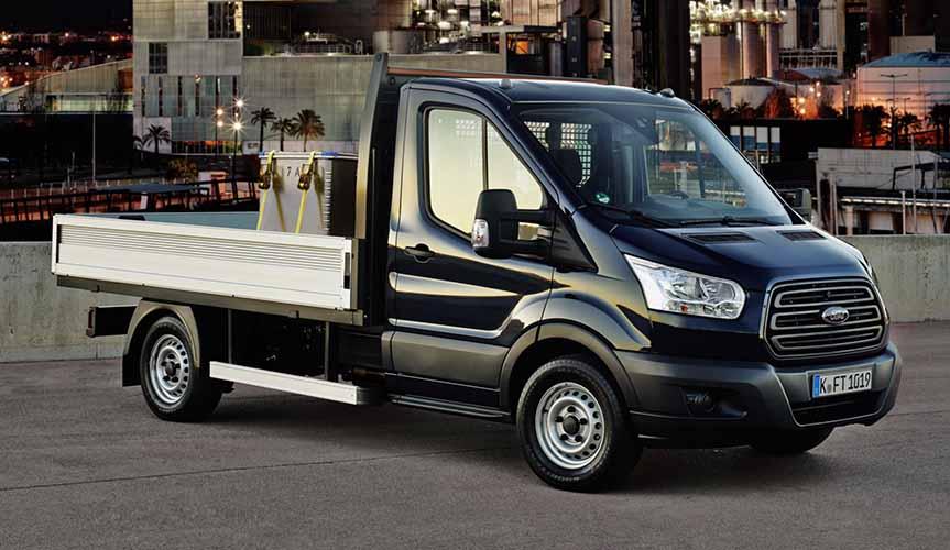 Ford отзывает в России 125 фургонов Transit