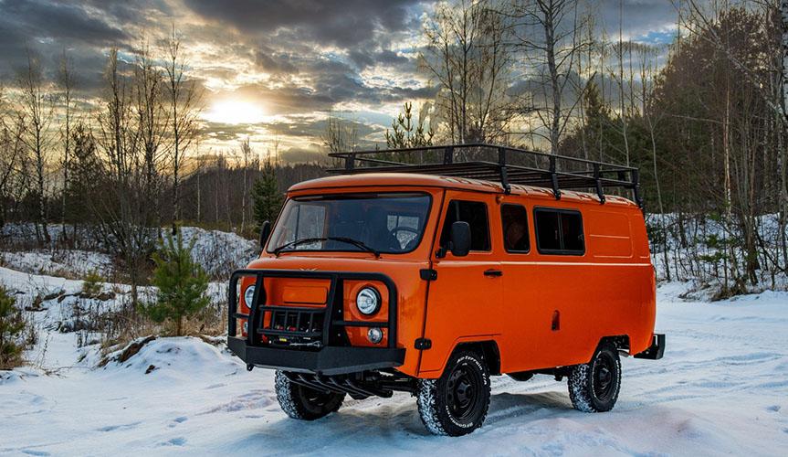 УАЗ выпустил экспедиционную спецверсию «Буханки»