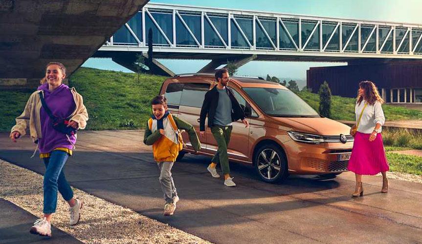Volkswagen раскрыл технические подробности нового Caddy