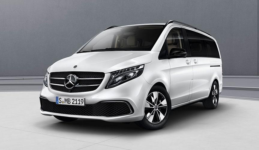 Mercedes-Benz V-Класса доступен с новым пакетом Night