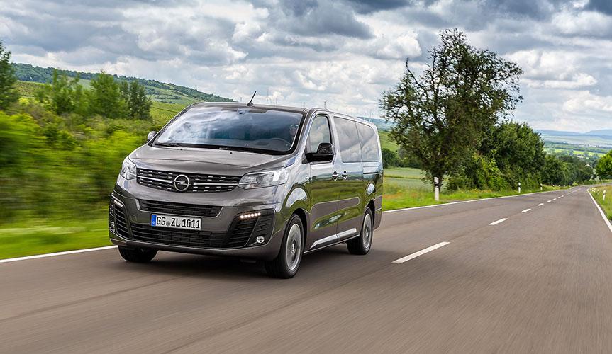 Opel Zafira Life -  старт производства двух новых версий