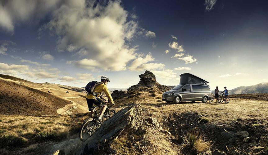 Представлен обновленный кемпер Mercedes-Benz Marco Polo