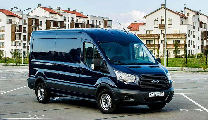 На рынке LCV среди иномарок лидирует Ford Transit