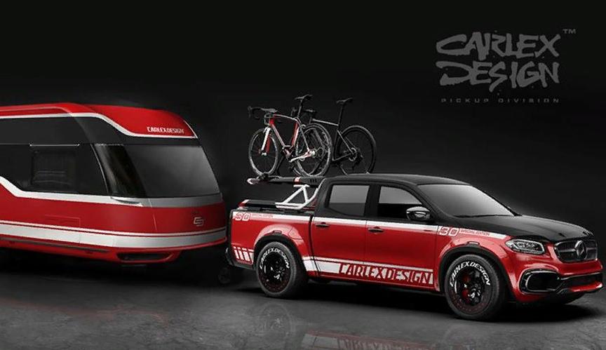 Пикап Mercedes-Benz от Carlex Design – мечта для велосипедиста