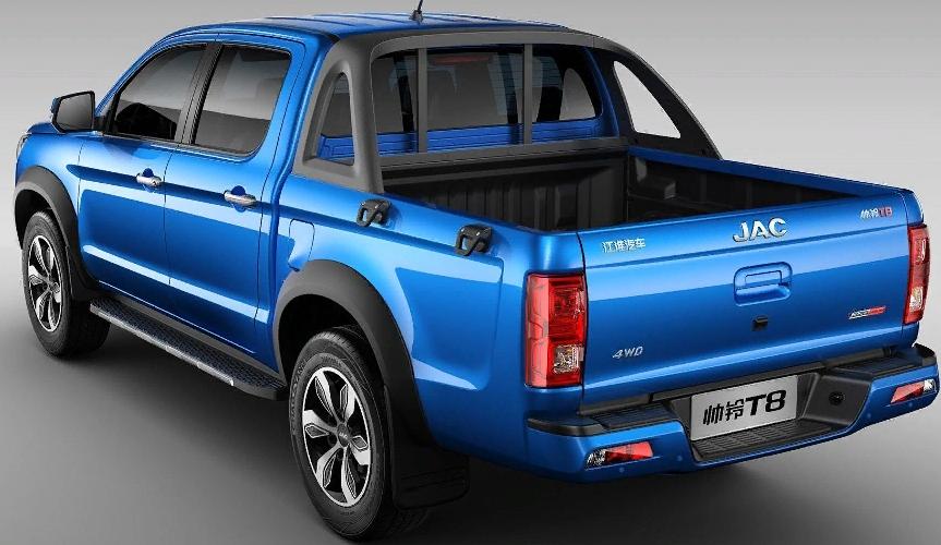 JAC привезёт в Россию новый пикап и электромобили