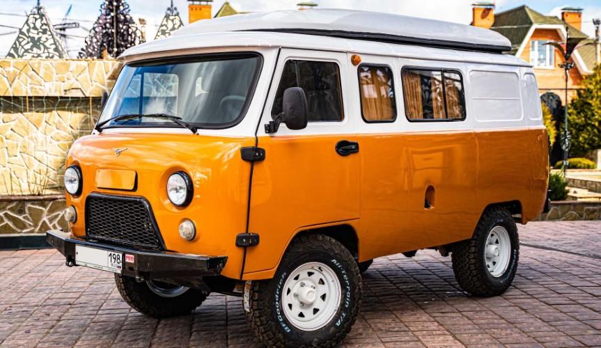 УАЗ официально представил кемпер на базе «Буханки»
