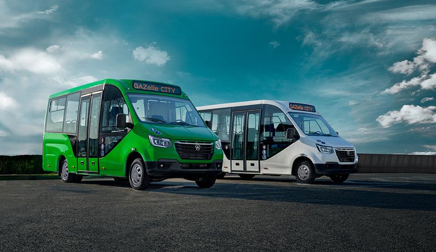 Начались продажи нового низкопольного городского микроавтобуса «ГАЗель City»