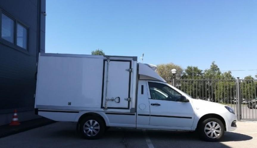 На базе LADA Granta построили фургон для перевозки грузов