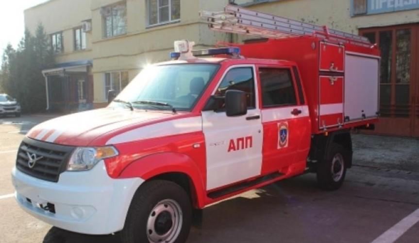 На базе УАЗ «Профи» сделали автомобиль для противопожарной службы