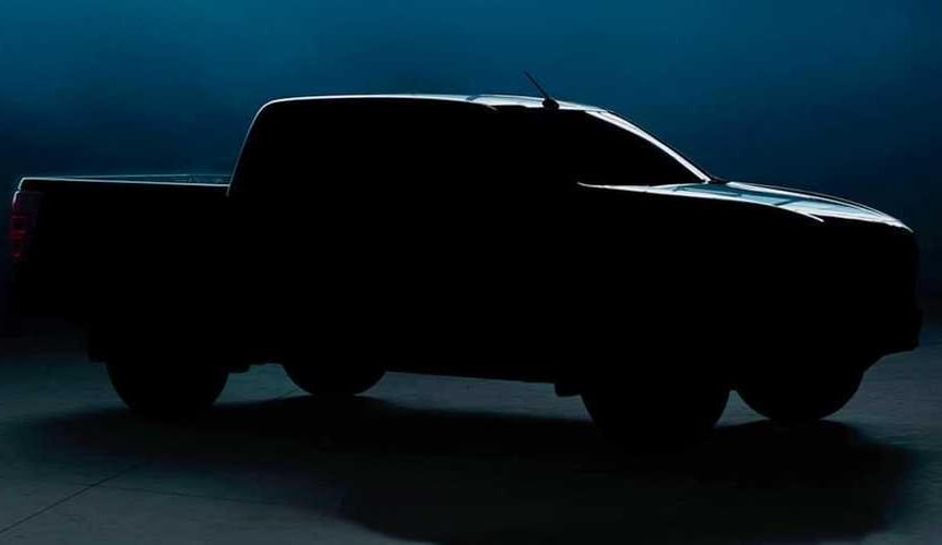 В сети опубликовали первый тизер пикапа Mazda BT-50