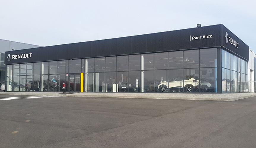 Renault Россия открыла новый дилерский центр в Воронеже