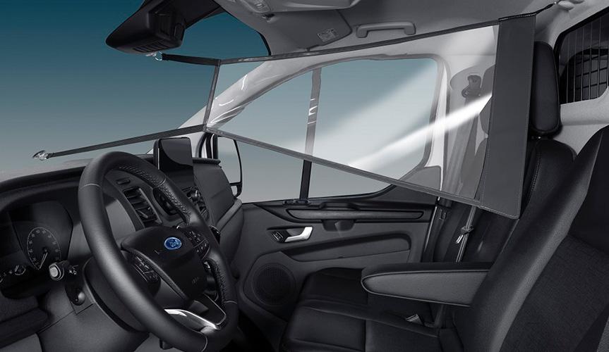 Ford разработал защиту от коронавируса для своих коммерческих автомобилей