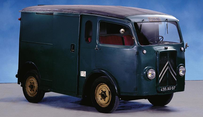 Citroen TUB – первый фургон со сдвижной дверью