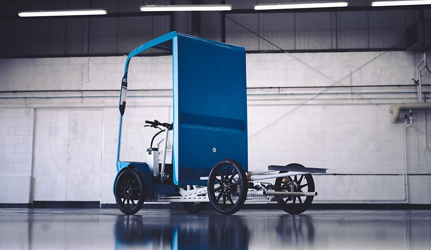 Компания EAV представила альтернативу развозным фургонам