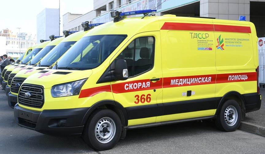 Больницам Татарстана передадут партию автомобилей скорой медицинской помощи на базе Ford Transit