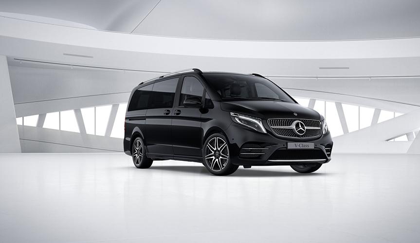 Для микроавтобусов Mercedes-Benz V-Класс и Vito доступна новая опция