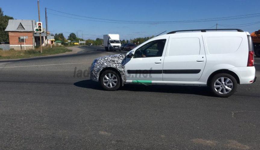 Новый LADA Largus FL продолжают тестировать на дорогах