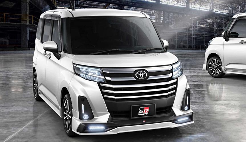 Крошечный минивэн от Toyota получил гоночную спецверсию Gazoo Racing