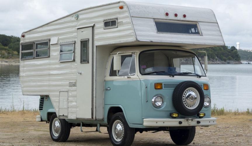 Редчайший кемпер на базе Volkswagen T2 будет продан на аукционе