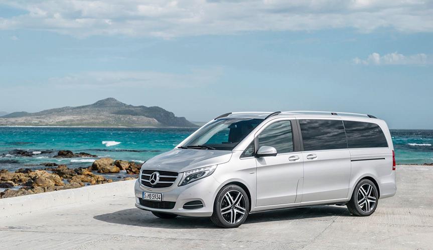 Mercedes-Benz отзывает в России автомобили V-Class