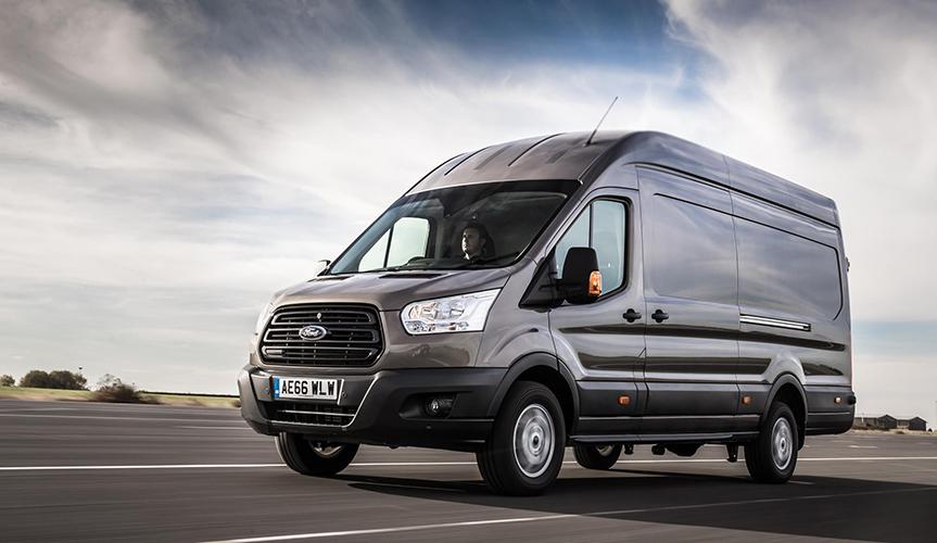 Продажи фургонов Ford Transit в сентябре увеличились на 11%