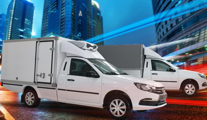 На базе LADA Granta сделали удлинённый фургон